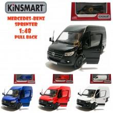 Kinsmart 1:48 Die-cast 2020 Mercedes-Benz Sprinter Van Car Model with Box Collection Toy