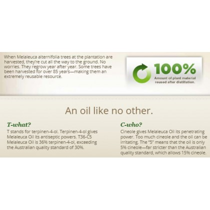 T40-C3 Melaleuca Oil  (5.8mL) Tea Tree Oil