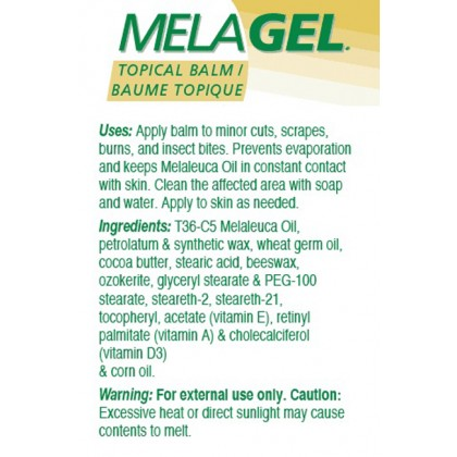 MelaGel Topical Balm - Disk (12 grams)