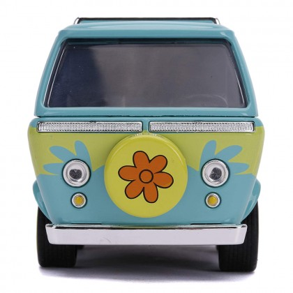 Jada 1:32 Diecast Hollywood Rides Scooby-Doo! The Mystery Machine Car Blue Model Collection