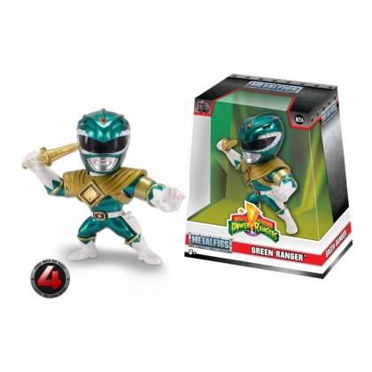Jada 4 inch Mighty Morphin Power Rangers Green Ranger Metals M405 Metalfigs Model Collection Toy