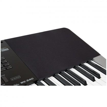 76 Key Casio WK-240 Standard Keyboard Piano 600 Tones 152 Songs New Fashion Adult