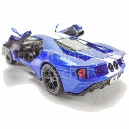 Kinsmart Die-cast 1:38 2017 Ford GT Car Model with Box Collection Christmas Gift
