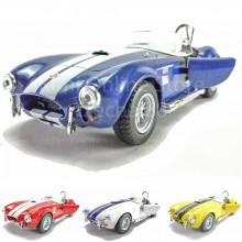 Kinsmart Die-cast 1:32 1965 Shelby Cobra 427 S/C Car Model With Box Collection Christmas Gift