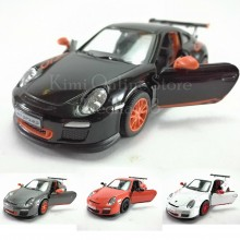 Kinsmart Die-cast 1:36 Porsche 911 GT3 RS Car Model with Box Collection Christmas Gift