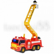 Daesung Fire Engine Fightfighter Truck Friction Generic Made in Korea Model Toy Heavy Duty Plastic DS-404