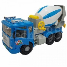 Daesung Door Openable Concrete Mixing Truck Friction Toys Korea Made Model Generic Genuine Authentic Product DS-955-1