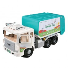 Daesung Door Op-enable Friction Toys Models Garbage Truck Made in Korea Generic Genuine Authentic Product DS-966-1