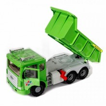 Daesung MAX DUMP TRUCK Toy Model Flywheel Green Heavy Duty Plastic DS-953-1