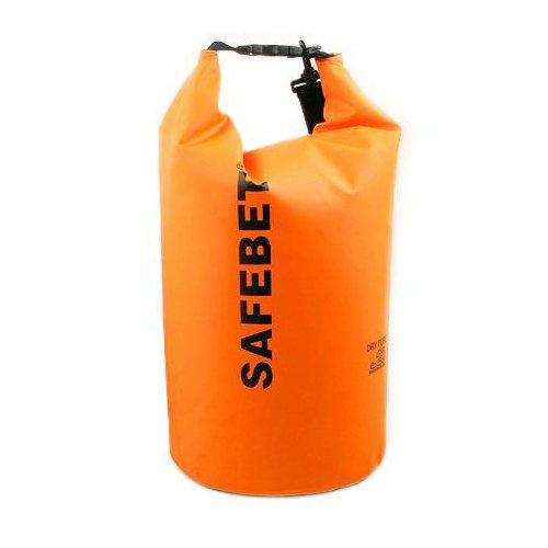 Safebet Waterproof Shoulder dry bag pouch 10L (Orange)