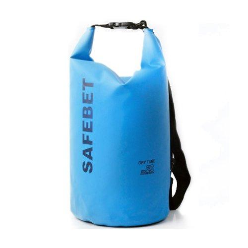 Safebet Waterproof Shoulder dry bag pouch 10L (blue)