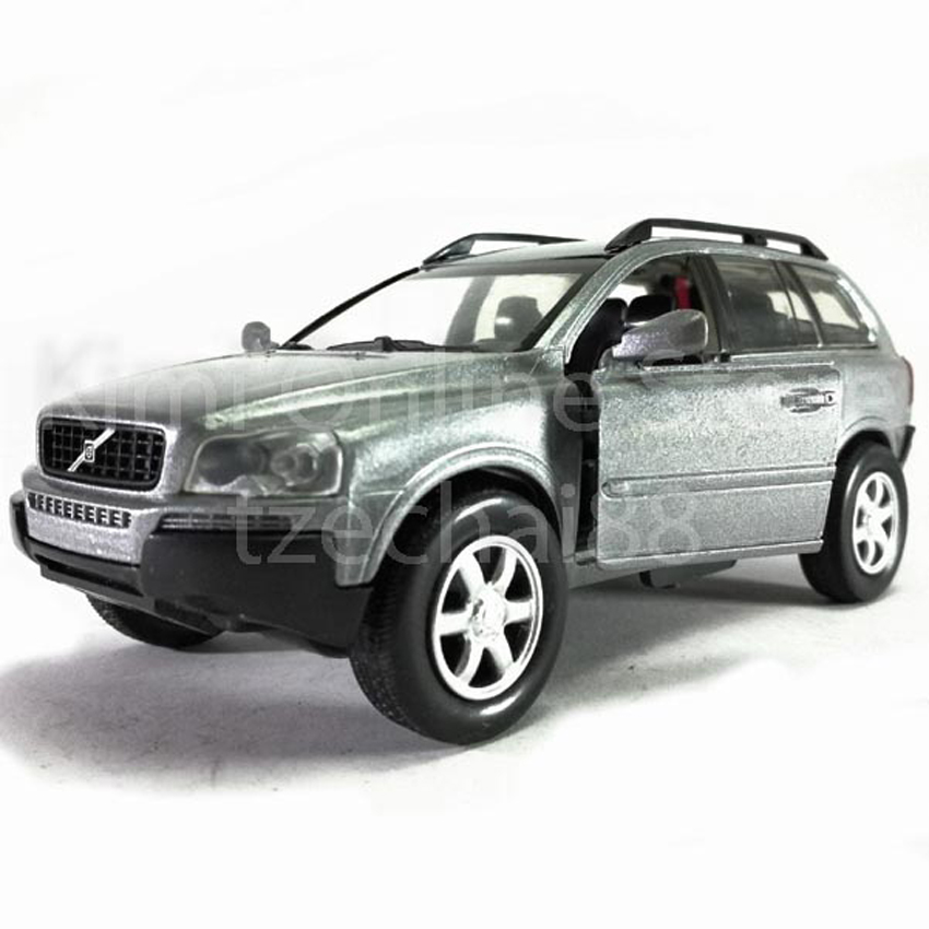 Newray Die-cast Volvo XC90 1:32 Silver Color Model Collection Gift New Toys