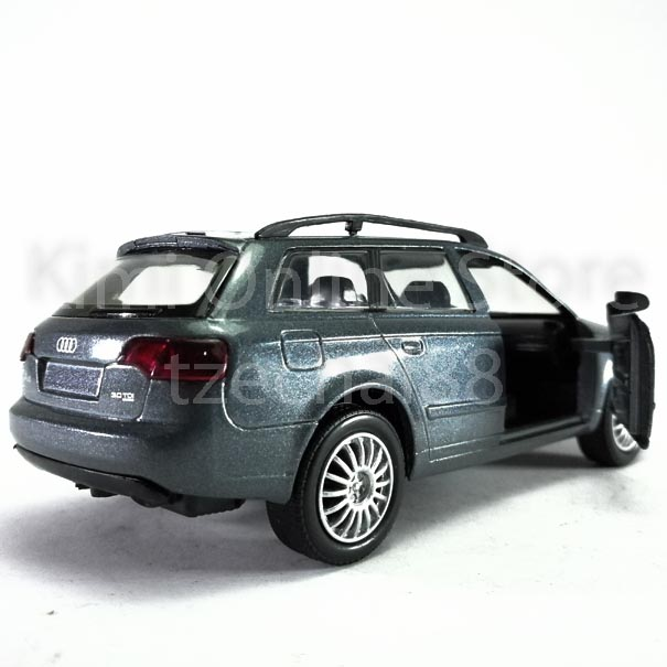 Newray Die-cast Audi A4 Avant 3.0 TDi 1:32 Grey Color Model Collection Gift Toys