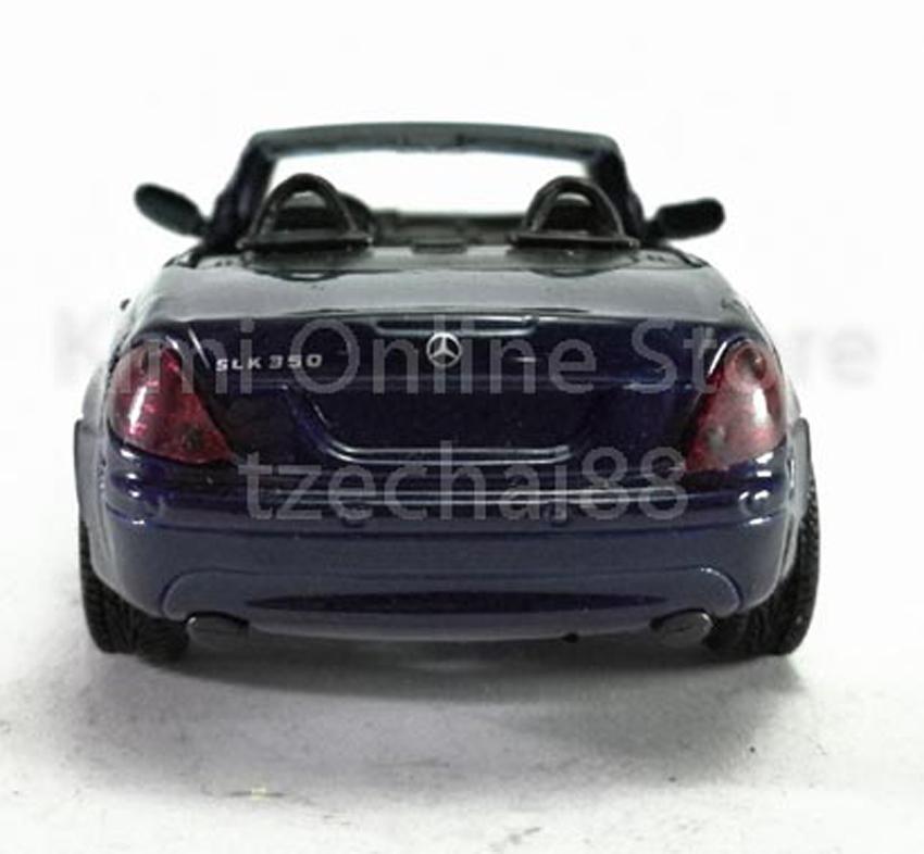 Newray Die-cast Mercedes Benz SLK 350 1:43 Dark Blue Color Model Collection New
