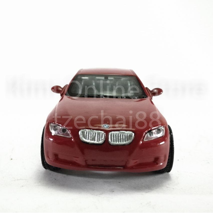Newray Die-cast BMW 3 Series Coupe 1:43 Red Color Model Collection New Gift