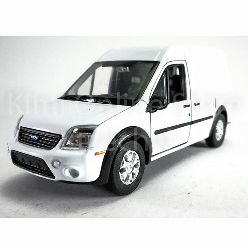 Used Ford Transit Connect In Widnes Cheshire: Welly 1:34-1:39 Die-cast Ford Transit Connect Van White