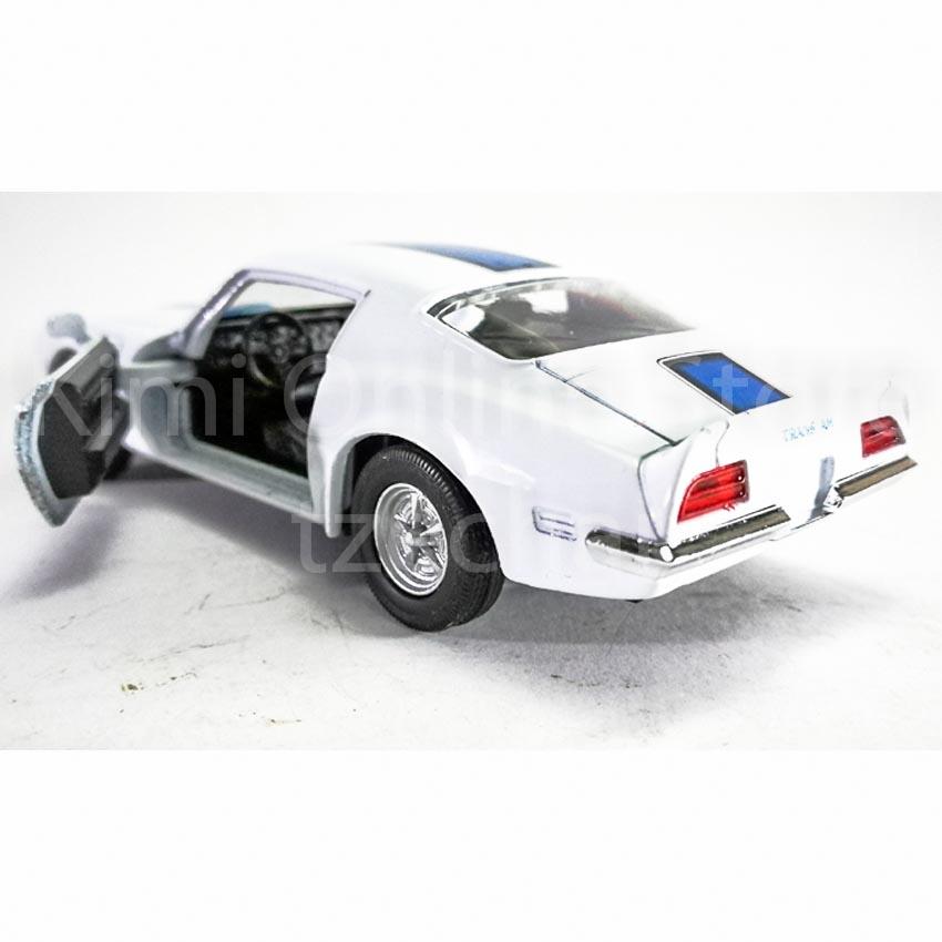 Welly 1:34-1:39 Die-cast 1972 Pontiac Firebird Trans Am Car White Model New