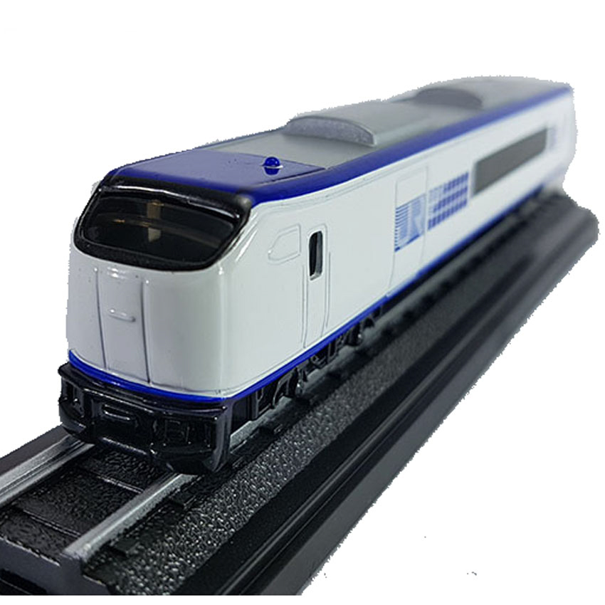 Christmas Train Cast.Die Cast Jr Train 6 Inch White Blue Color Model Collection Christmas New Gift
