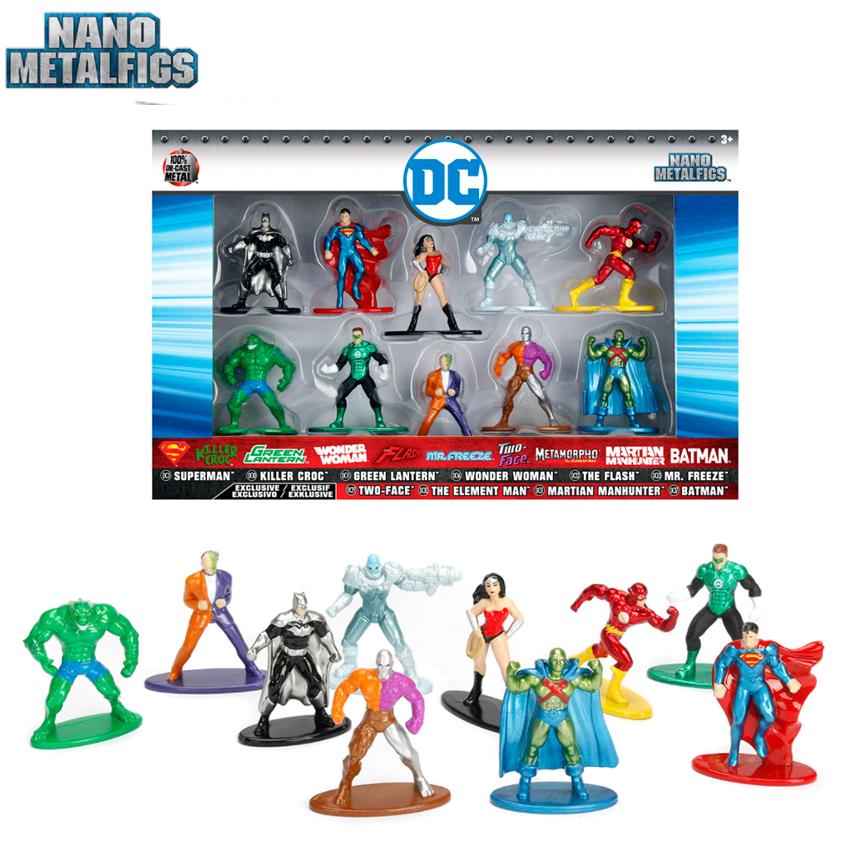 DC Nano Jada metalfigs 10 Pack