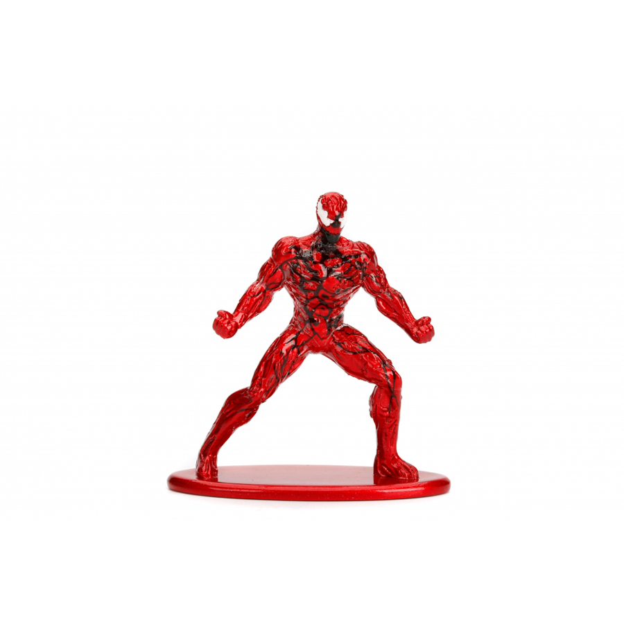 JADA 1.65'' Nano Metalfigs Carnage Marvel Spider-Man Action Figure Metal Diecast