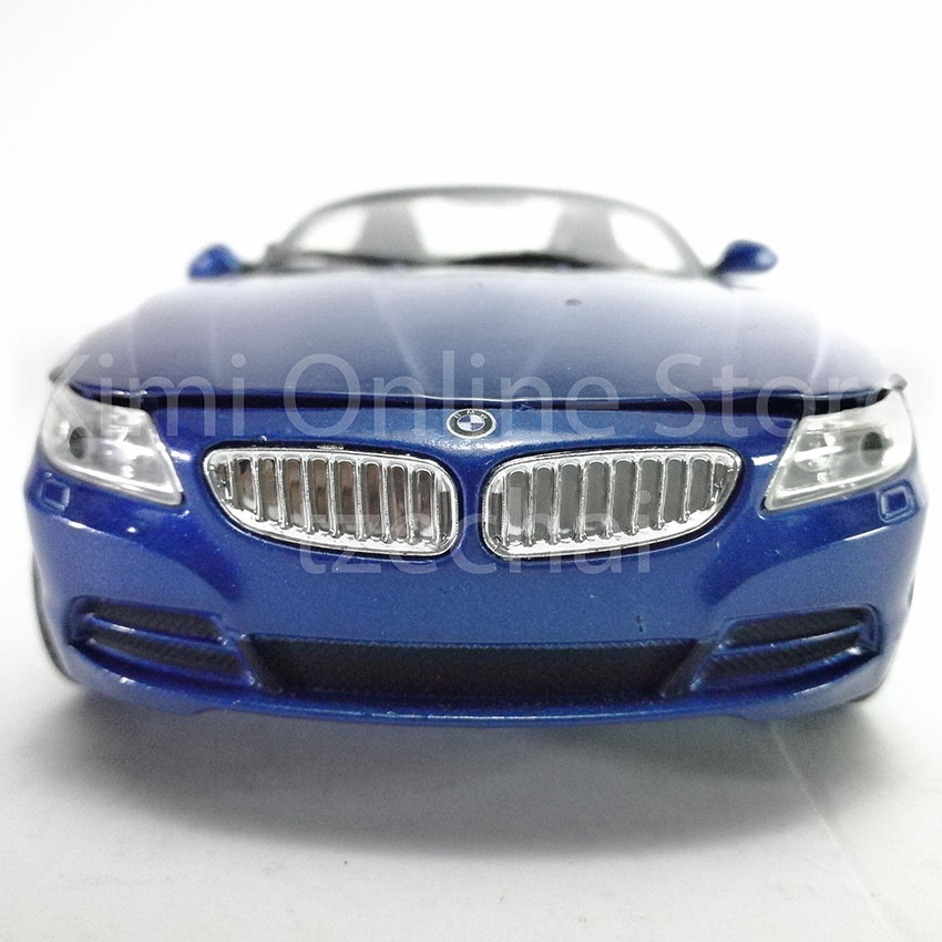 Newray 1 24 Die Cast Bmw Z4 Blue Color Model Collection