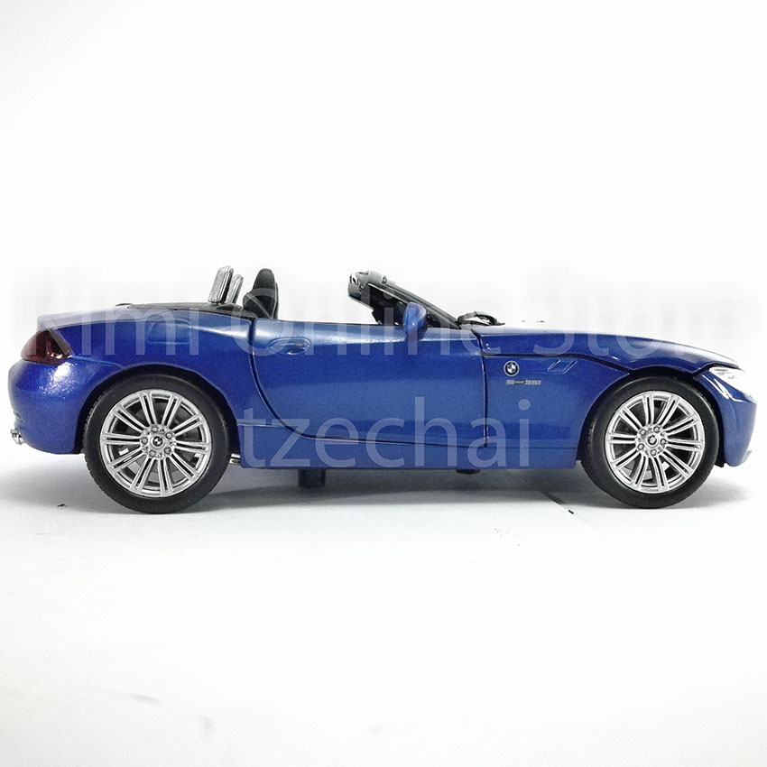 Newray 1 24 Die Cast Bmw Z4 Blue Color Model Collection
