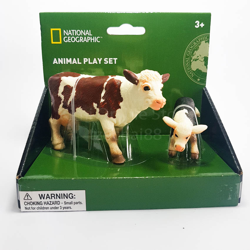 National Geographic Farm Life New Zealand milk cows (daily farm) PlaySet Genuine