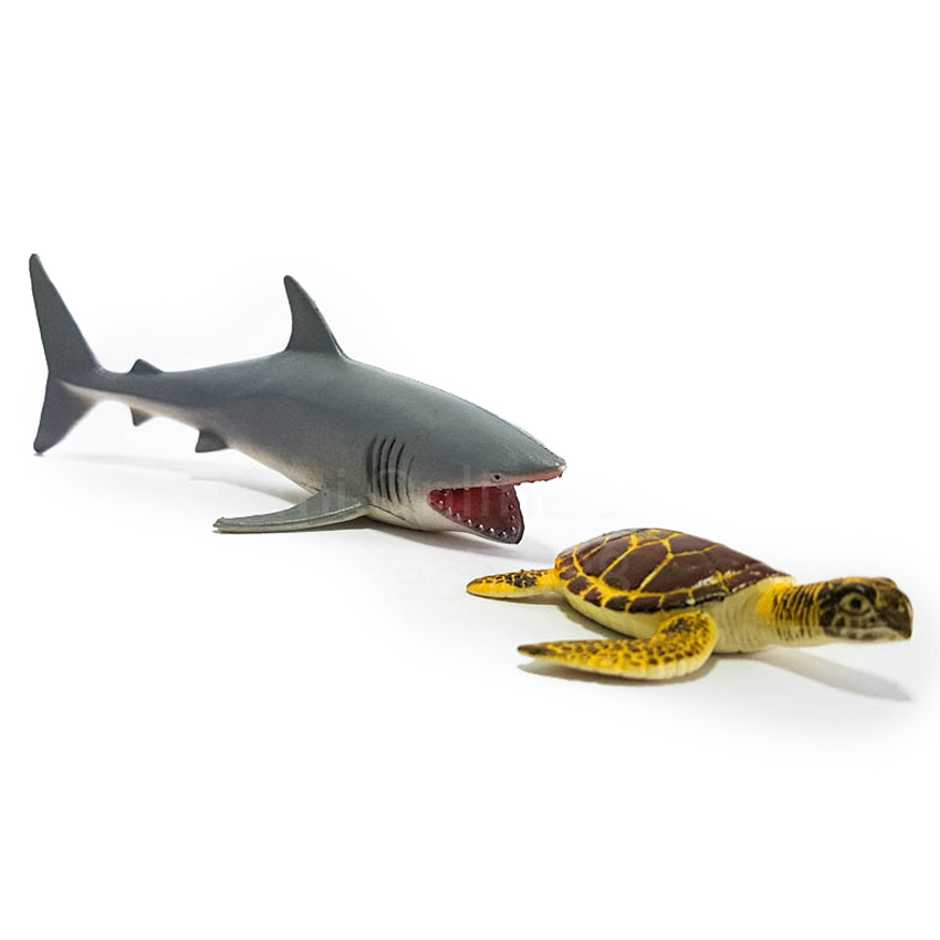 National Geographic Sea Life Turtle Shark Animal Play Set Toy Genuine Authentic