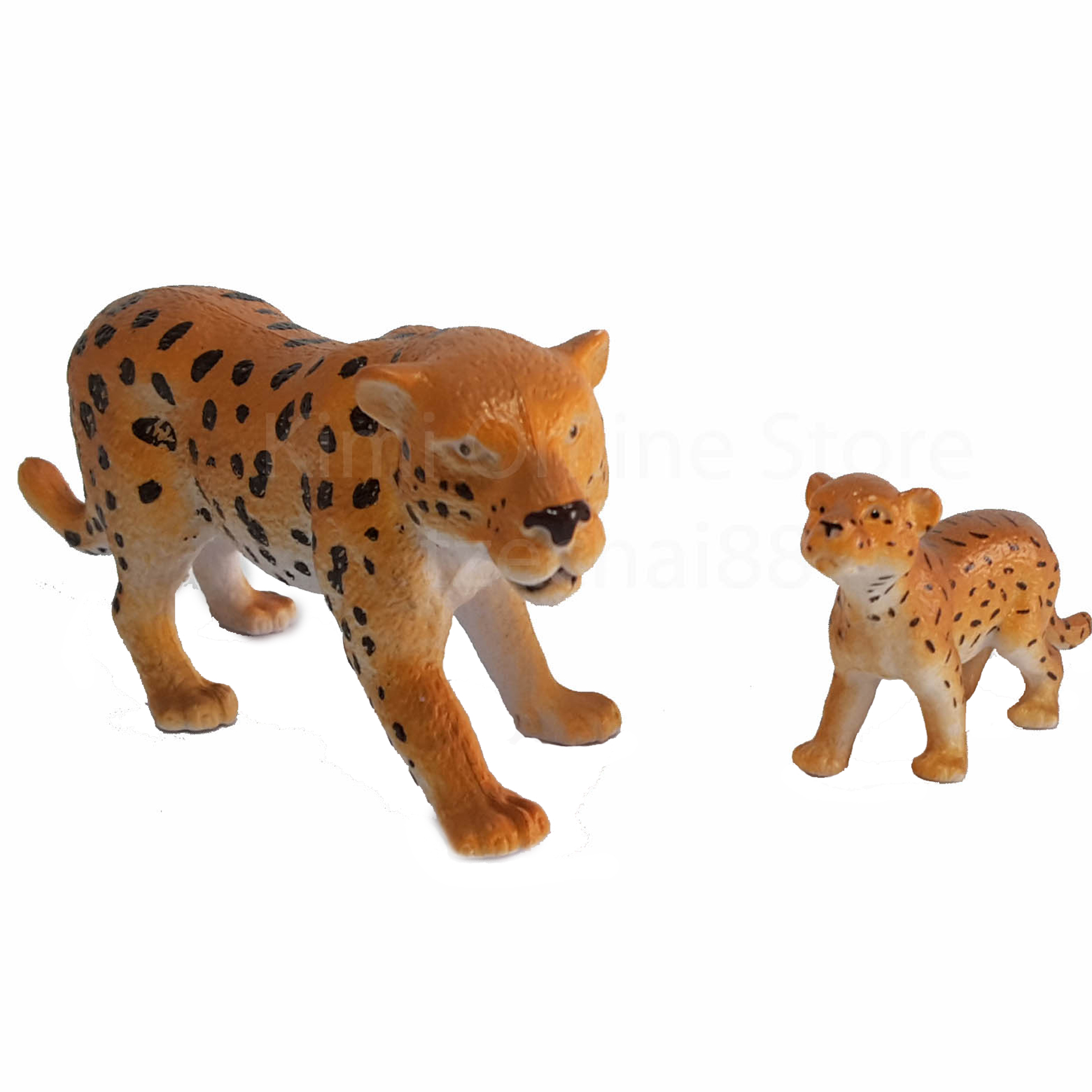 National Geographic Wildlife Animal Leopard Baby Play Set Genuine Authentic