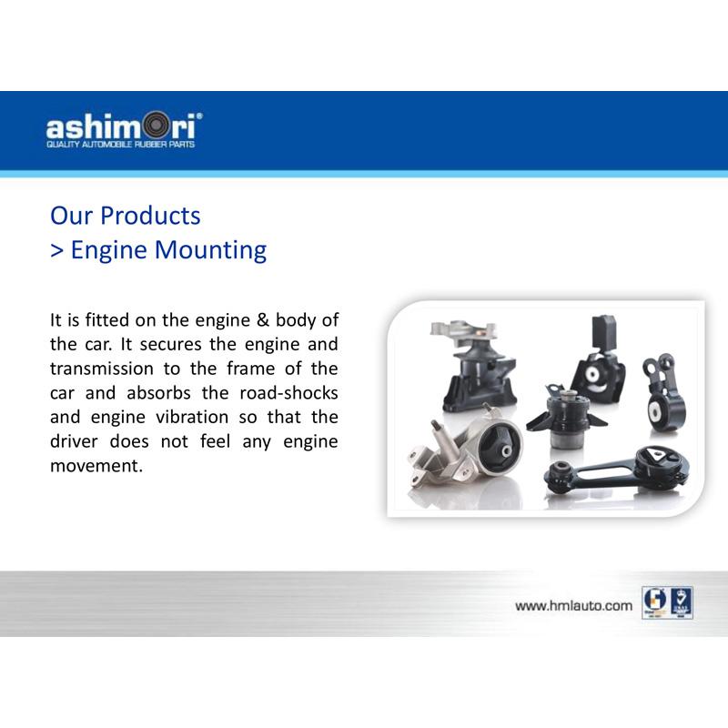 Ashimori Engine Mount for Proton Waja 1.6L (Manual) 1992-1996 Mounting Motor