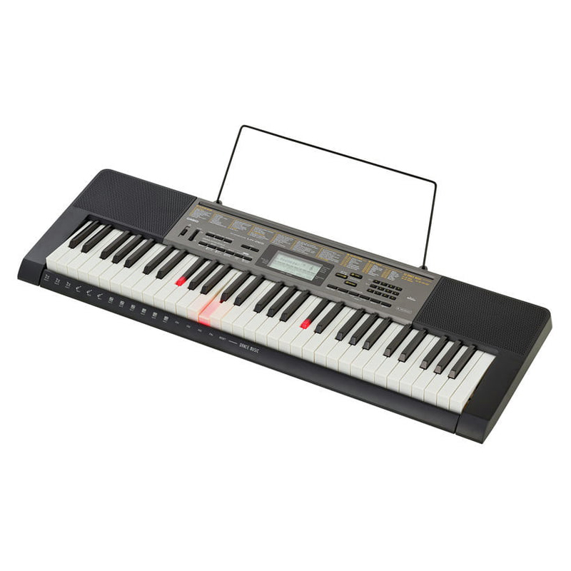 61 Key Casio LK-265 Electronic Keyboard Piano Organ Lighting System 48 polyphony