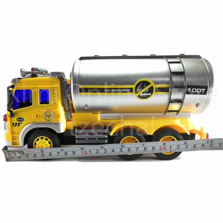 Petrol Oil Tanker Truck Educational Toy Sound & Light 10.5 inch The Nine Product