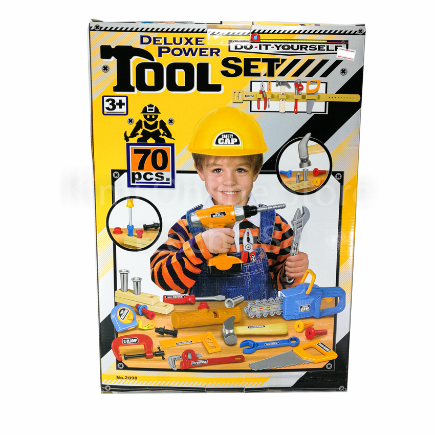 Deluxe power tool set 70 pcs do it yourself diy repair toys gift deluxe power tool set 70 pcs do it yourself diy repair toys gift section b solutioingenieria Gallery