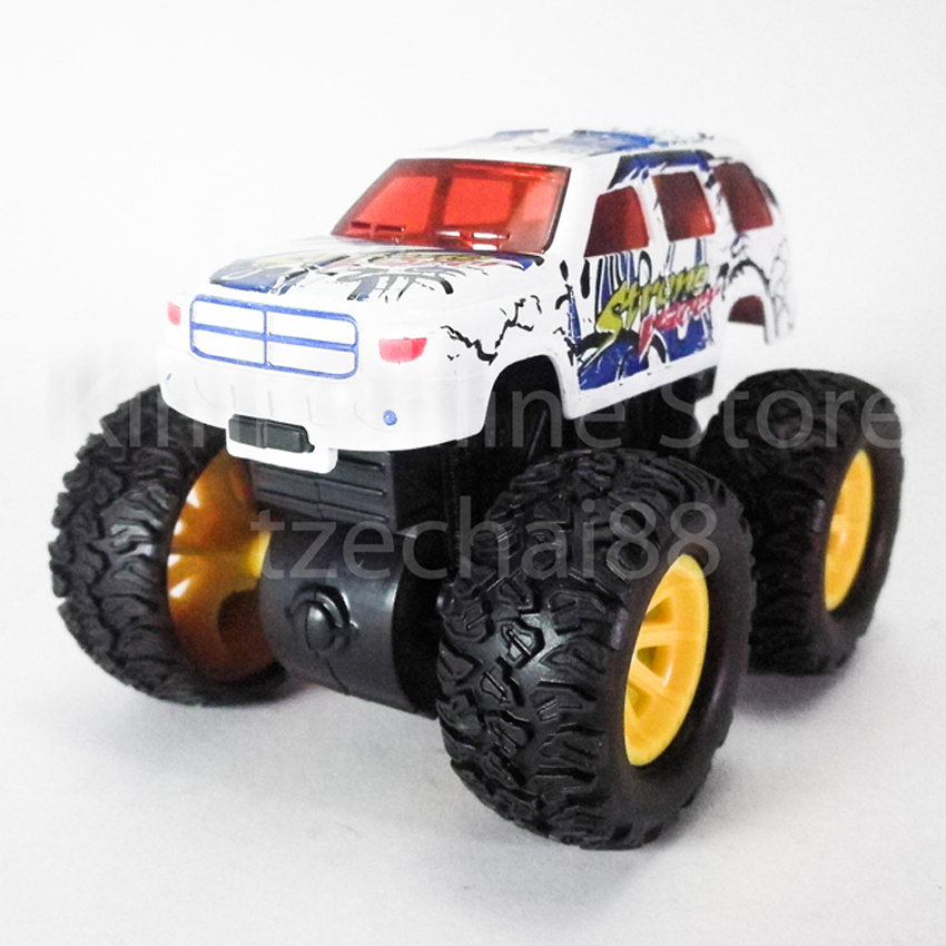 Bigfoot Off-Road Monster Truck 3.5 inch Diecast White Color Model Collection