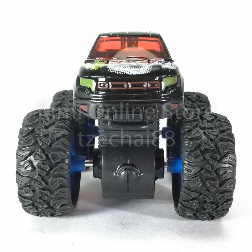Bigfoot Off-Road Monster Truck 3.5 inch Diecast Black Color Model Collection
