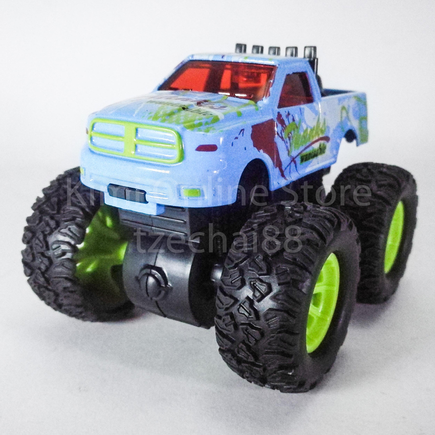Bigfoot Off-Road Monster Truck 3.5 inch Diecast Light Blue Color Model Collection
