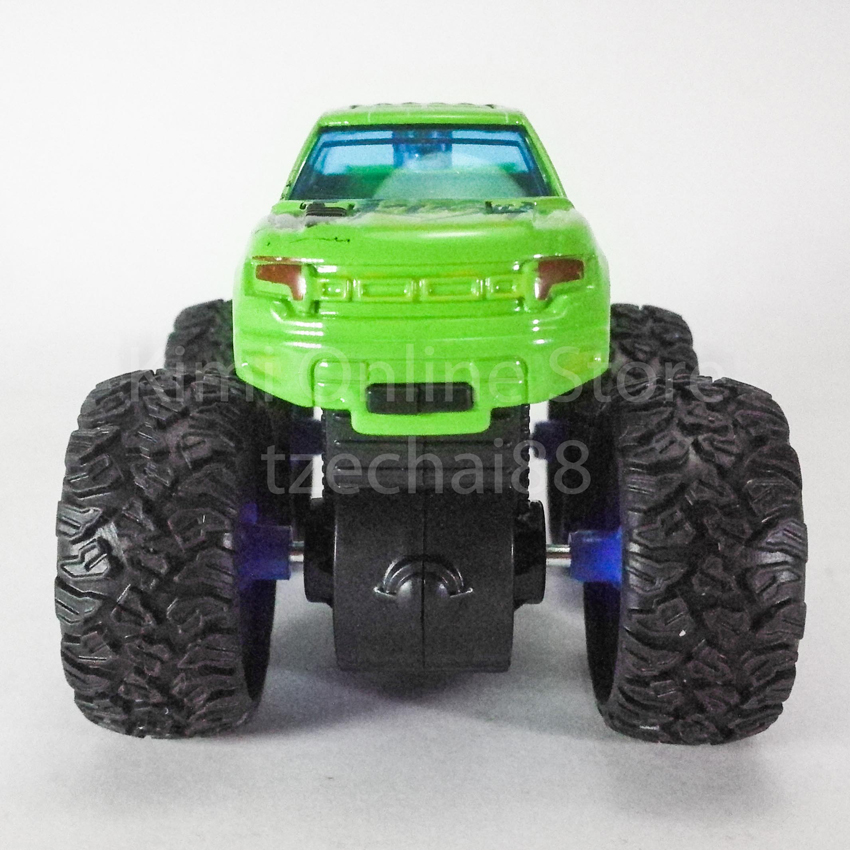 Bigfoot Off-Road Monster Truck 3.5 inch Diecast Green Color Model Collection
