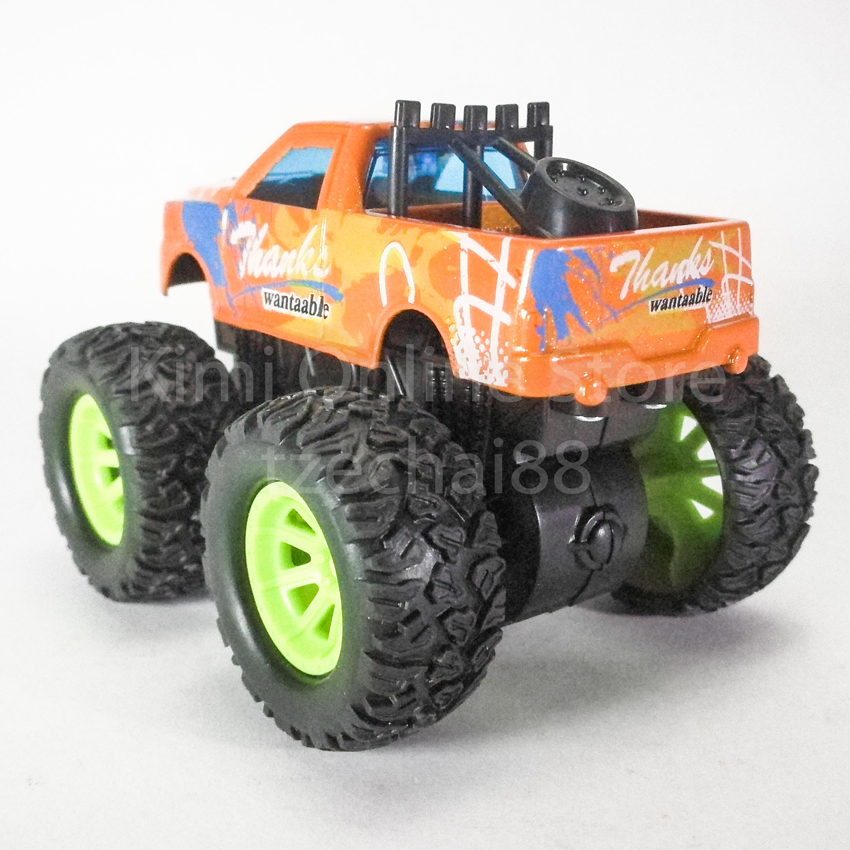 Bigfoot Off-Road Monster Truck 3.5 inch Diecast Orange Color Model Collection