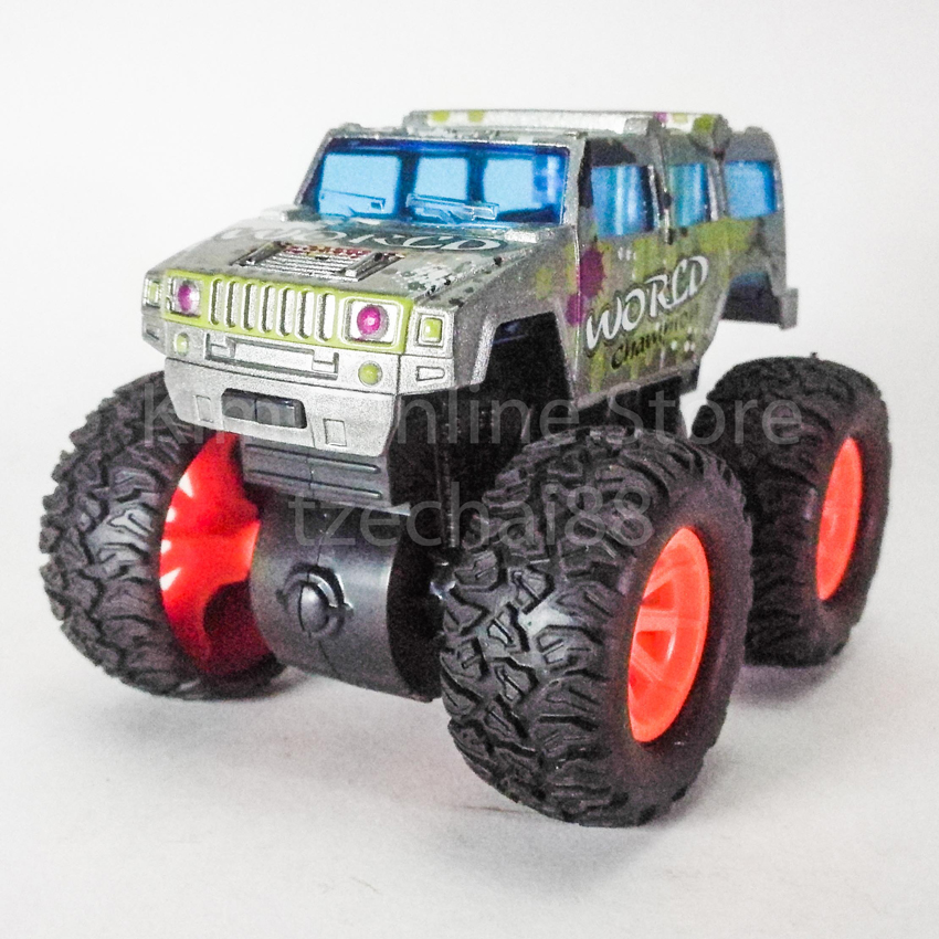 Bigfoot Off-Road Monster Truck 3.5 inch Diecast Silver Color Model Collection