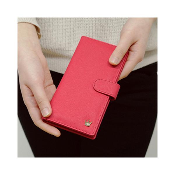 Korean Donbook Woman Long Wallet Purse Card Leather Vesion H