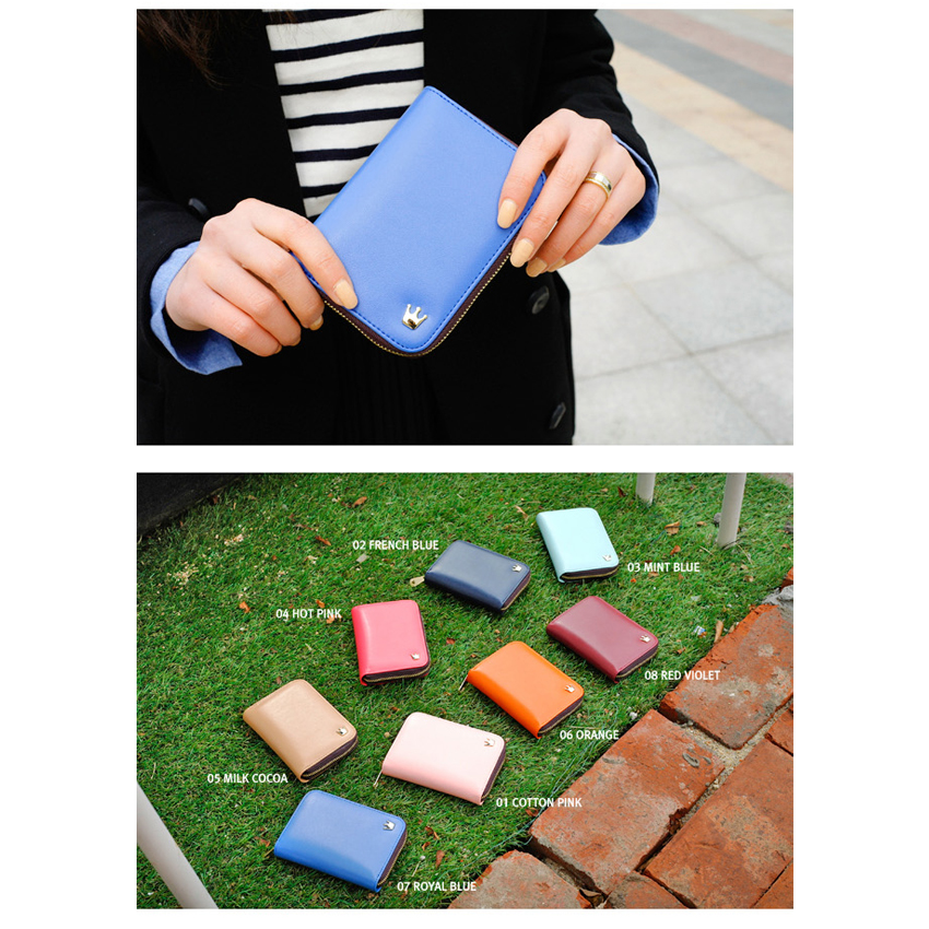 Korean Donbook Smart Purse Wallet Leather Multi Funtion A Size