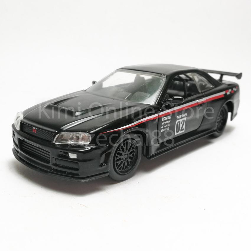 Jada 1:32 JDM Tuners Die Cast 2002 Nissan Skyline GT R R34