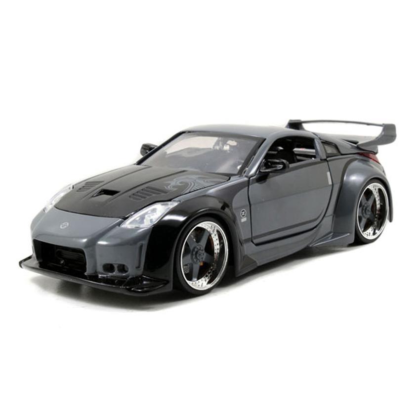 Jada 1:24 Fast & Furious Die-Cast DK\'s Nissan 350Z Car Model Collection