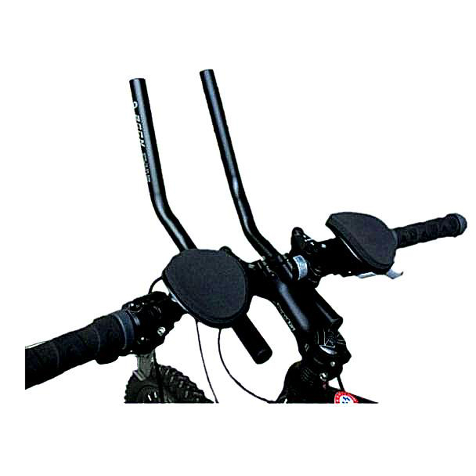 Aerobar Armrest Split Bridge Handle Bar Universal Bicycle Triathlon