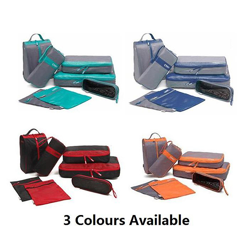 Korean Multipurpose Storage Travel Waterproof 7 Set Toiletry Bag Cloth