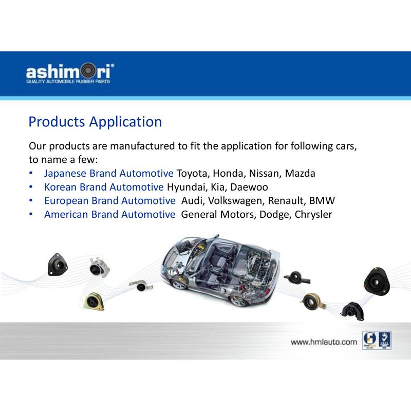 Ashimori Upper Control Arm Assembly Rear Long Proton Gen 2 1.6L