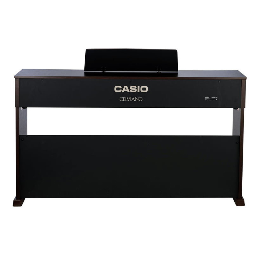 88 Key Casio AP-270 Brown Celviano Piano Bench Weighted Scaled Hammer Action Tri-Sensor Keys Lvory Touch