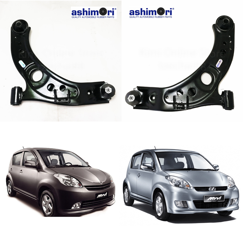 Ashimori Lower Control Arm Assembly Front Right + Left Perodua Myvi 04\'-07\'