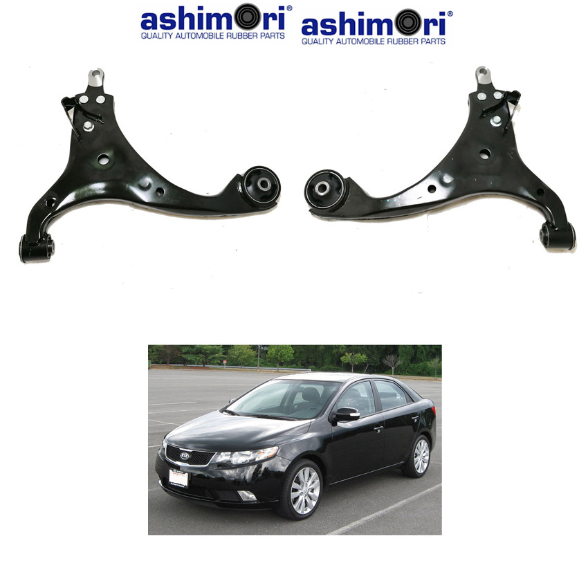 Ashimori Lower Control Arm Assembly Front Left + Right KIA Forte 2008-2012
