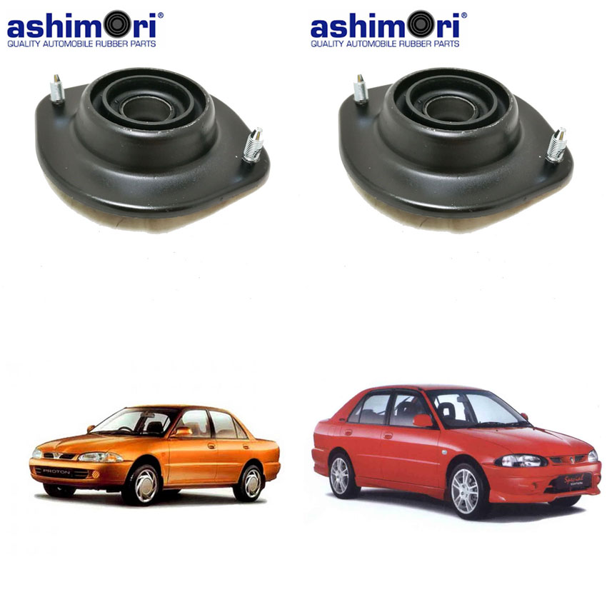 Ashimori Quality 1 Pair Strut Mount Absorber Mounting for Proton Wira